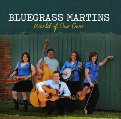 "AGH0433 insert GSP001 Prescription Bluegrass Reviews ""World Of Our Own"" by The Martins."